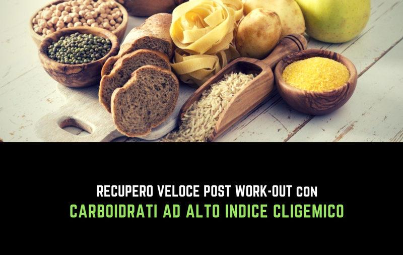 Nutritional Coach MET - I migliori carboidrati post work out per accelerare il tuo recupero